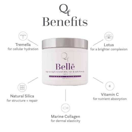 Qt Internal Cosmetics - benefits of Bellē in stock at Soothe Therapies