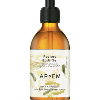 APoEM Restore body gel