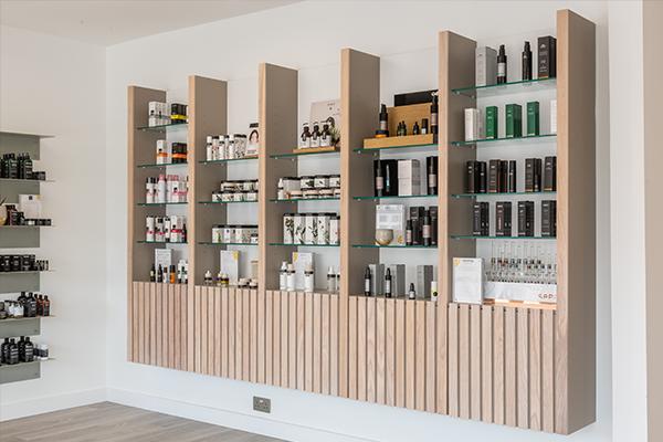 soothe shelves
